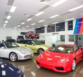 Superior Automotive Car Showroom